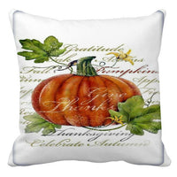 Halloween Pillow Cases Linen Sofa Pumpkin Ghosts Cat Cushion Cover Home Decor