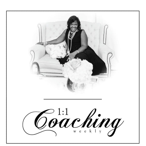 1:1 Coaching {Monthly} 4 Weekly Installments