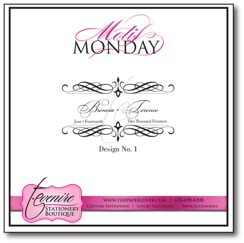 Motif Monday Design No. 1 {6.15.15}