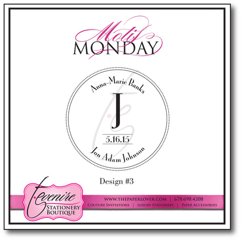 Motif Monday Design No. 3 {5.26.15}