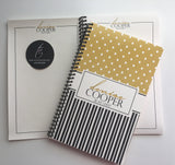 Spiral Notebook {5x8} -Style Denise