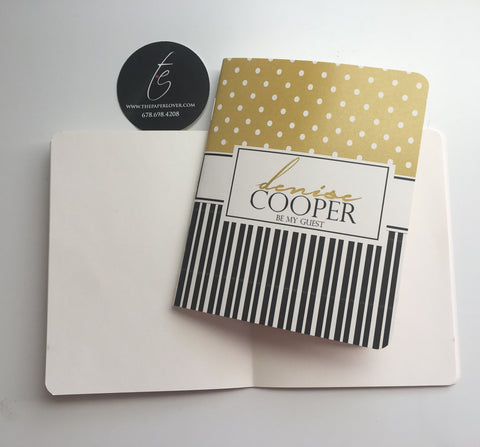 Mini Notebook {3x5} -Style Denise