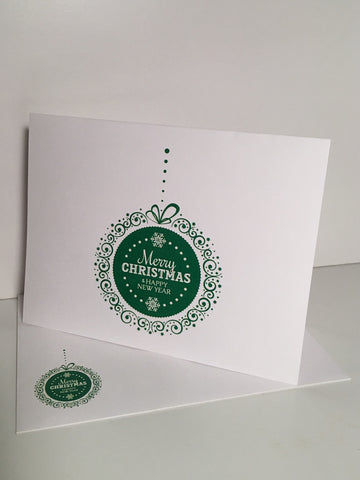 Ornament Green {Holiday Cards} Set of 12