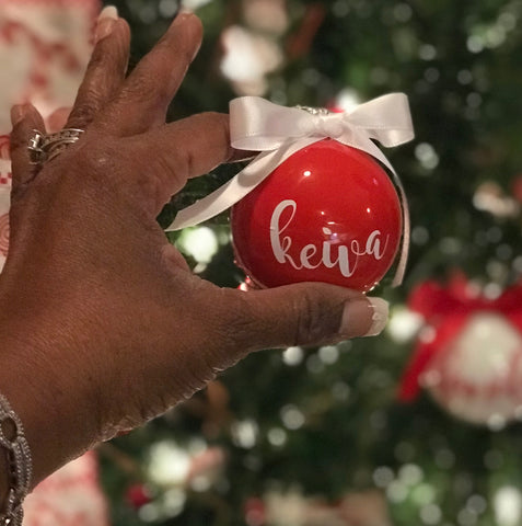 Personalized Ornament