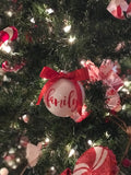 Hope, Love, Peace, Joy, Believe & Family Assorted Ornaments {set of 12}