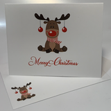 Red Nose Reindeer  {PVC100}