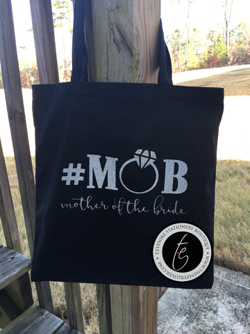 #MOB {Mother of the Bride} Tote Bag