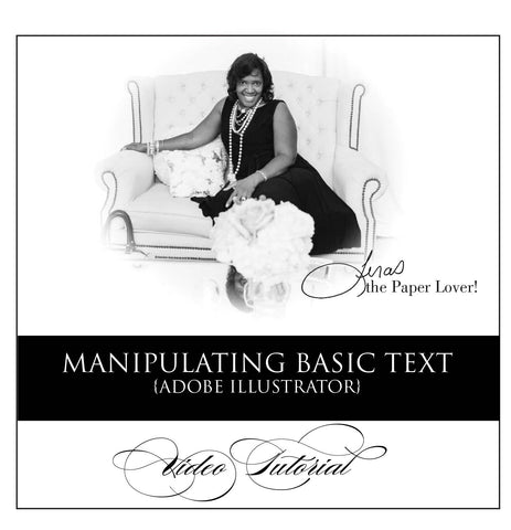 Manipulating Basic Text {step by step video tutorial} #1 Video to See!!!