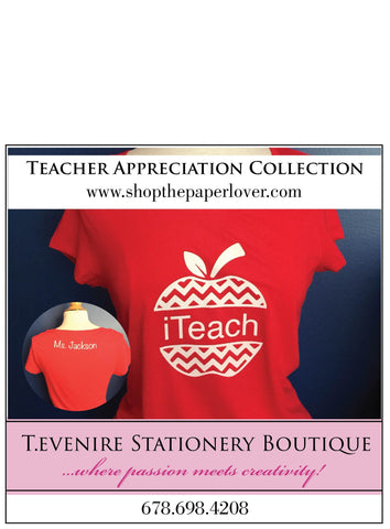 iTeach {Personalized} - Red