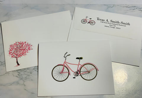 Bike Notecards {BVC100}