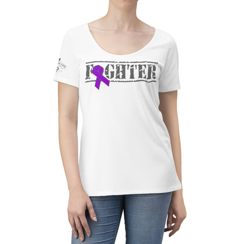CAUTION LINE Premium Apparel Women's Cancer Fighter
