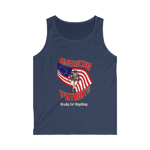 CAUTION LINE Premium Apparel American Patriots Ready For Anything Tank Top