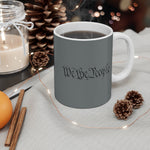 We The People Mug - 11oz - Black / White