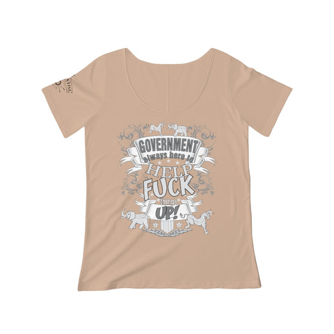 CAUTION LINE Premium Apparel Women's Here to Help