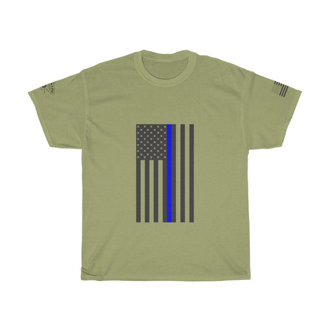 CAUTION LINE Premium Apparel Thin Blue Line (B)