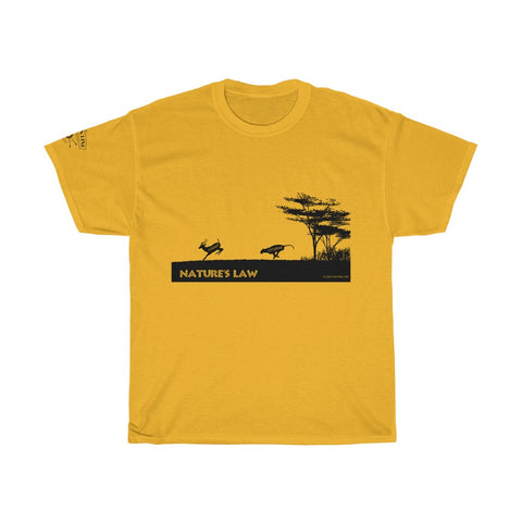 CAUTION LINE Premium Apparel Nature's Law T-shirt