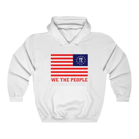 CAUTION LINE Premium Apparel We The People Unisex Heavy Blend™ Hooded Sweatshirt