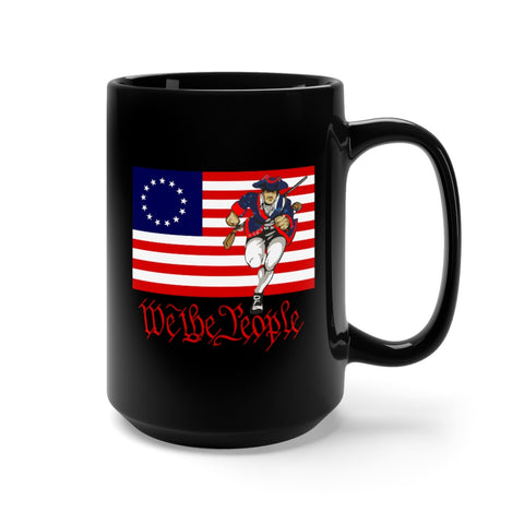 CAUTION LINE Premium Apparel Continental Army WE THE PEOPLE Mug 15oz
