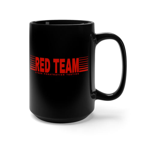 CAUTION LINE Premium Apparel RED TEAM 15 oz Mug