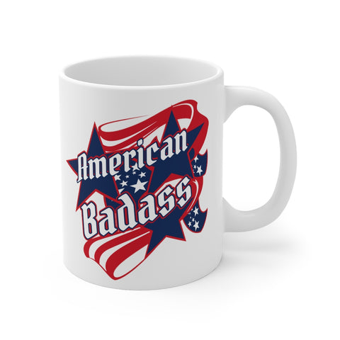 The American Badass Mug - 11oz
