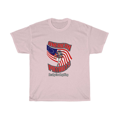CAUTION LINE Premium Apparel American Patriots Ready For Anything Tee