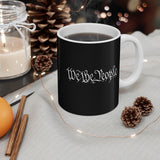 We The People Mug - 11oz - White / Black