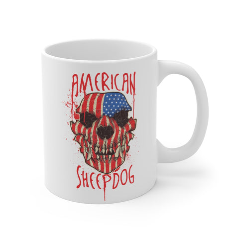 American Sheepdog Mug - 11oz