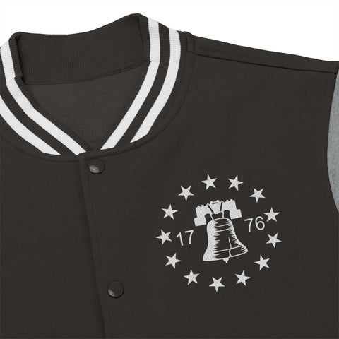 CAUTION LINE Premium Apparel Spirit of 1776 Men's Varsity Jacket