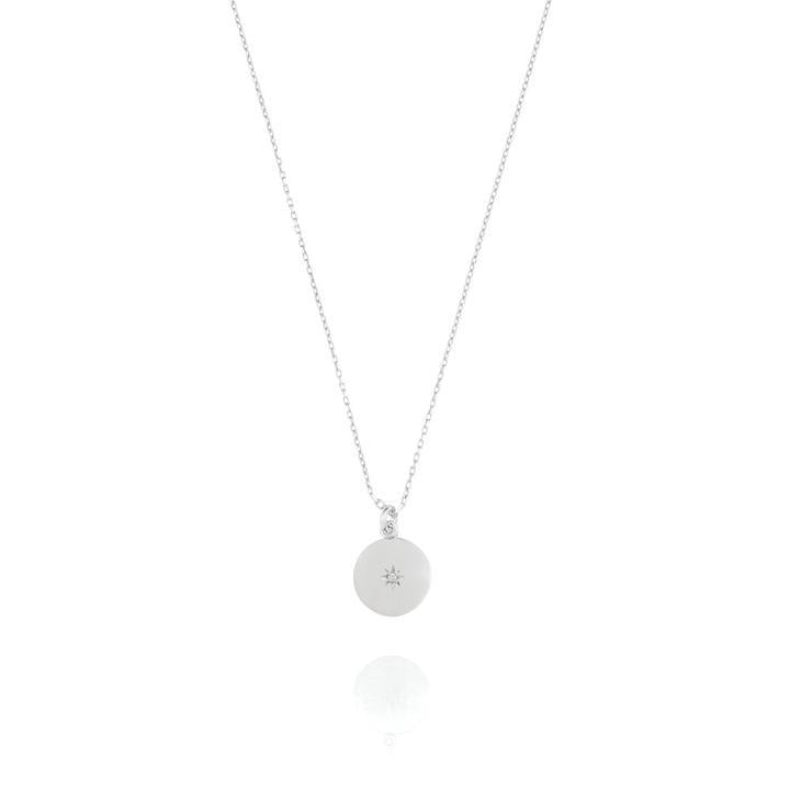 North Star Disc Necklace