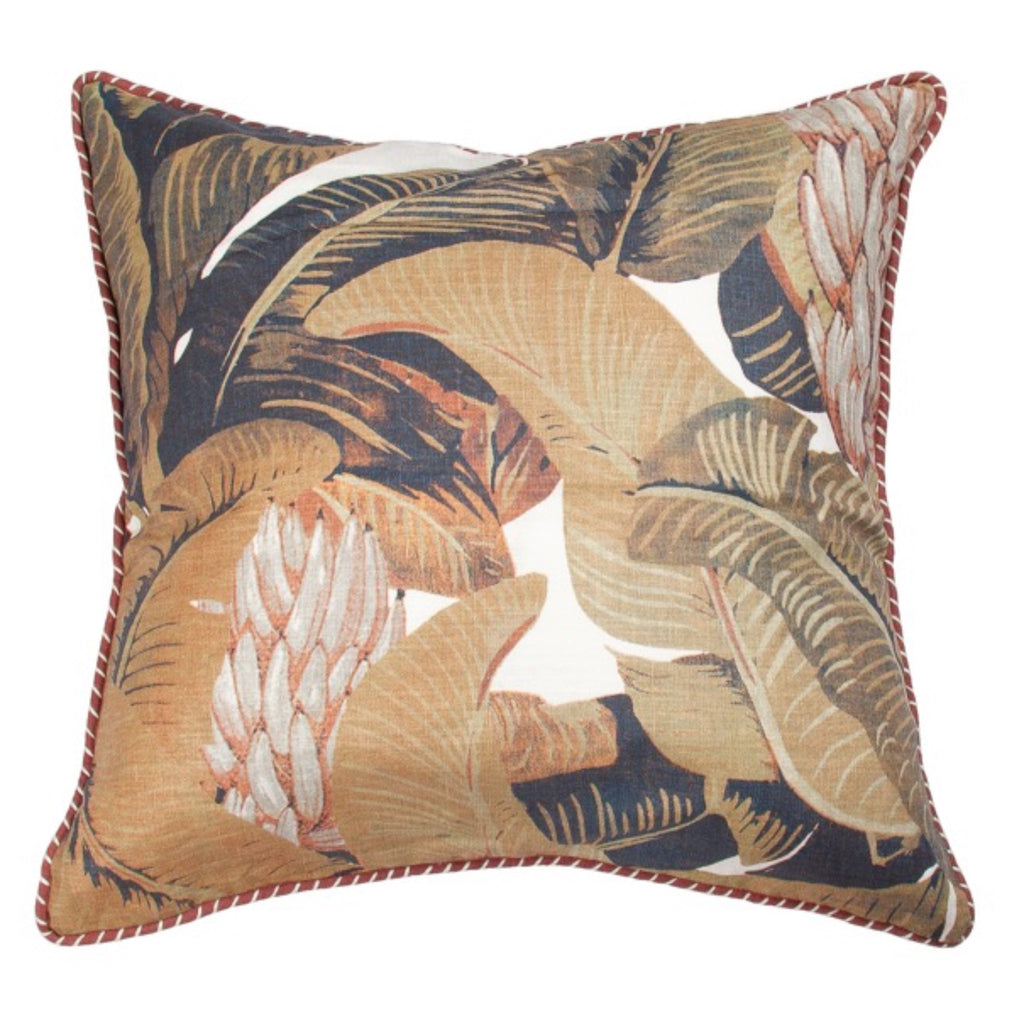 Mystique Linen Rumba Cushion-Coca Mojo-m a g n o l i a | home