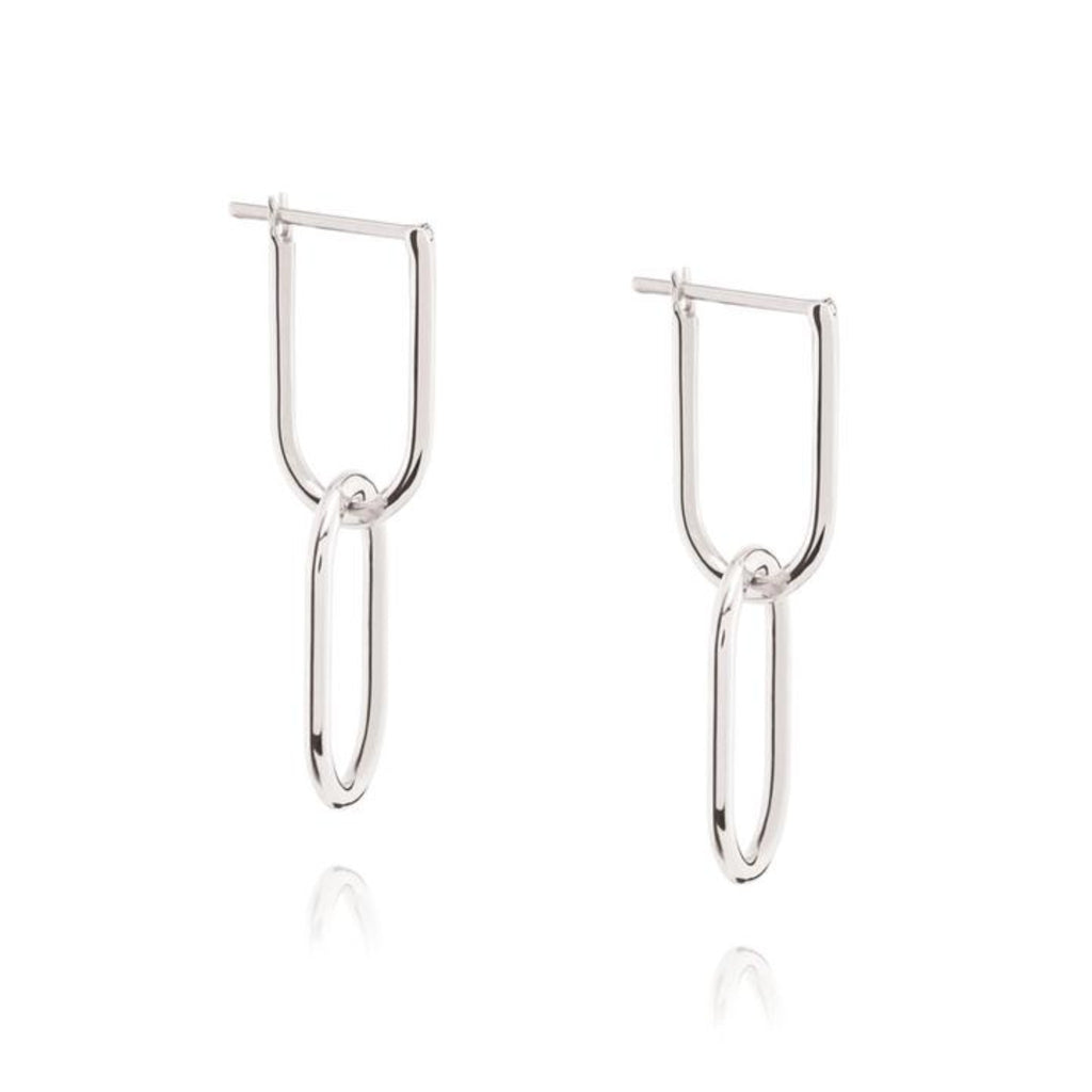 Linked Hoop Earring