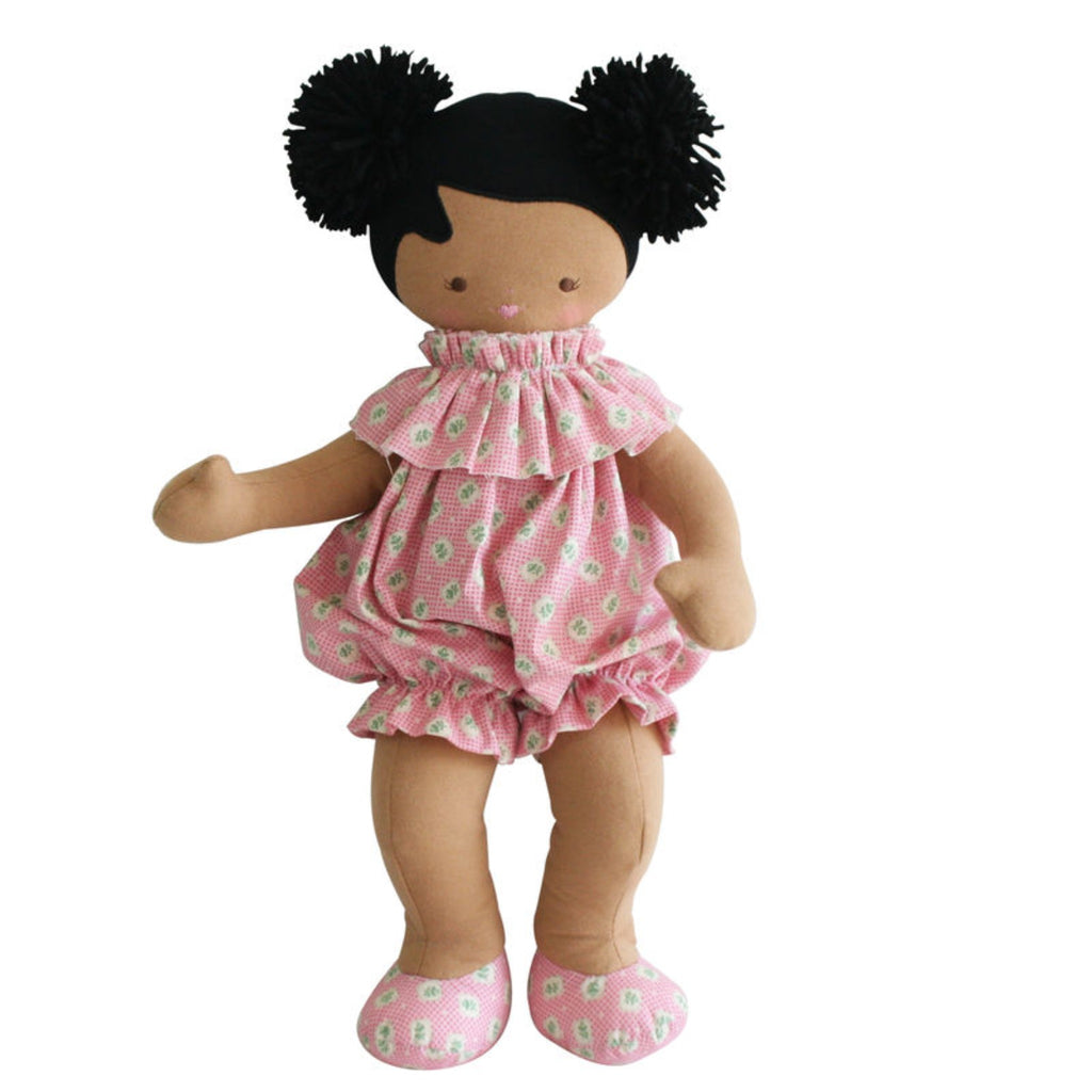 Baby Lucy Doll - Pink/Green-Alimrose-m a g n o l i a | home