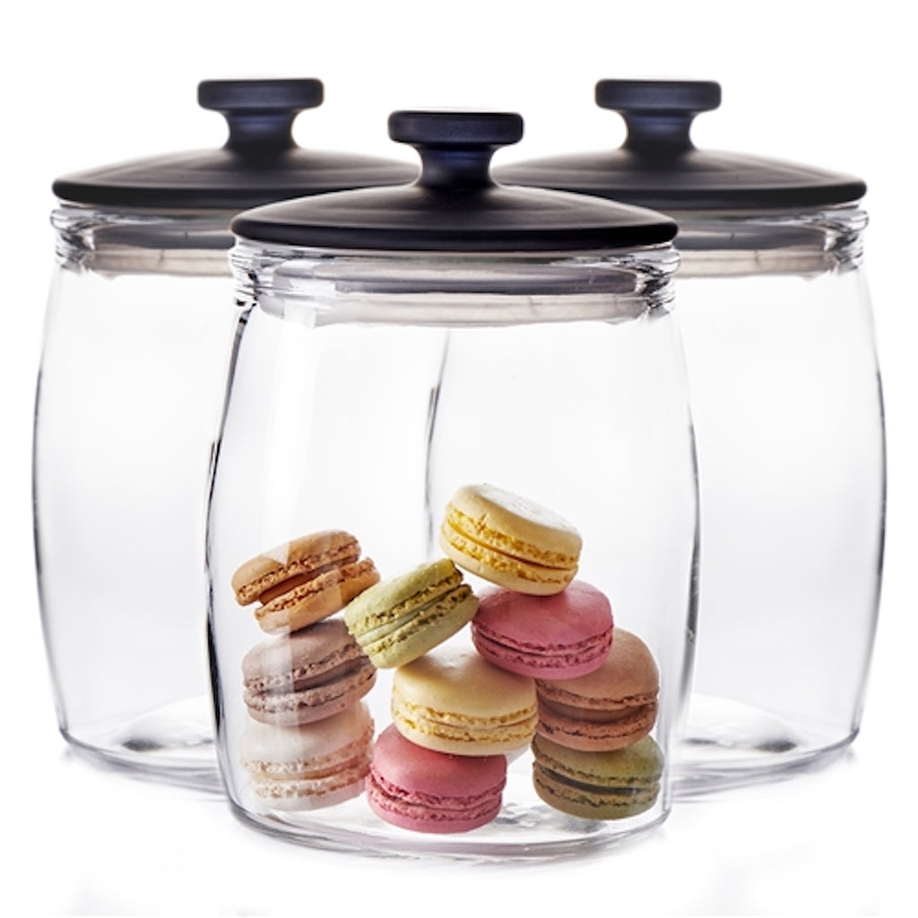 Beacon Glass Canister Set | 17cm