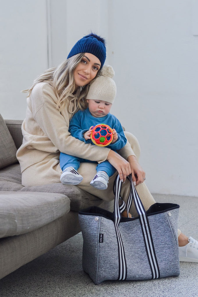 Aria Tote | Marle Grey-Olivia Jean-m a g n o l i a | home