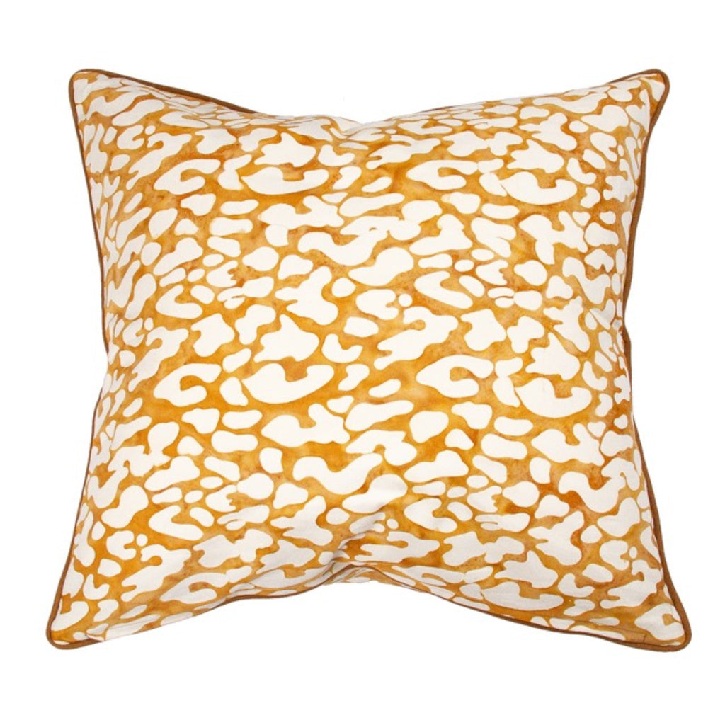 Leopard Tan Cushion-Coca Mojo-m a g n o l i a | home