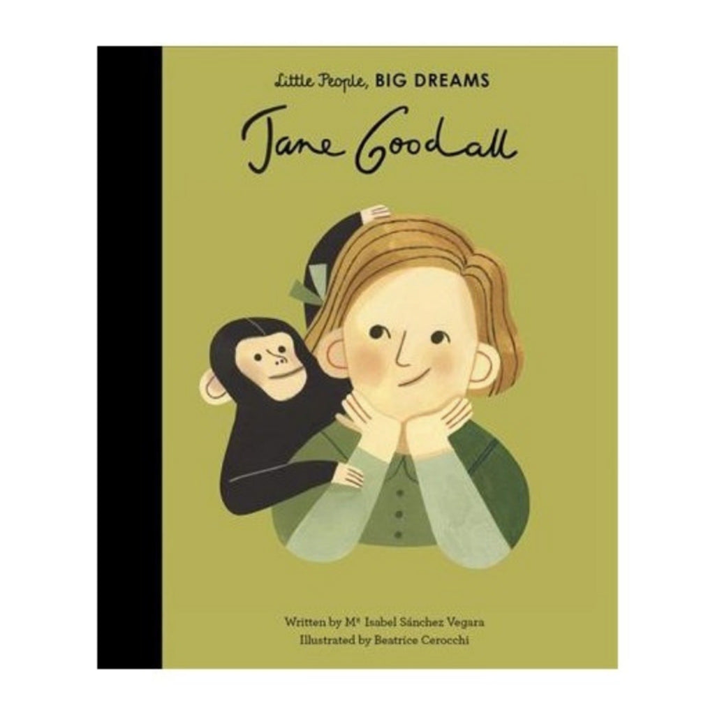 Jane Goodall: Little People, Big Dreams-Harper Collins Publishers-m a g n o l i a | home