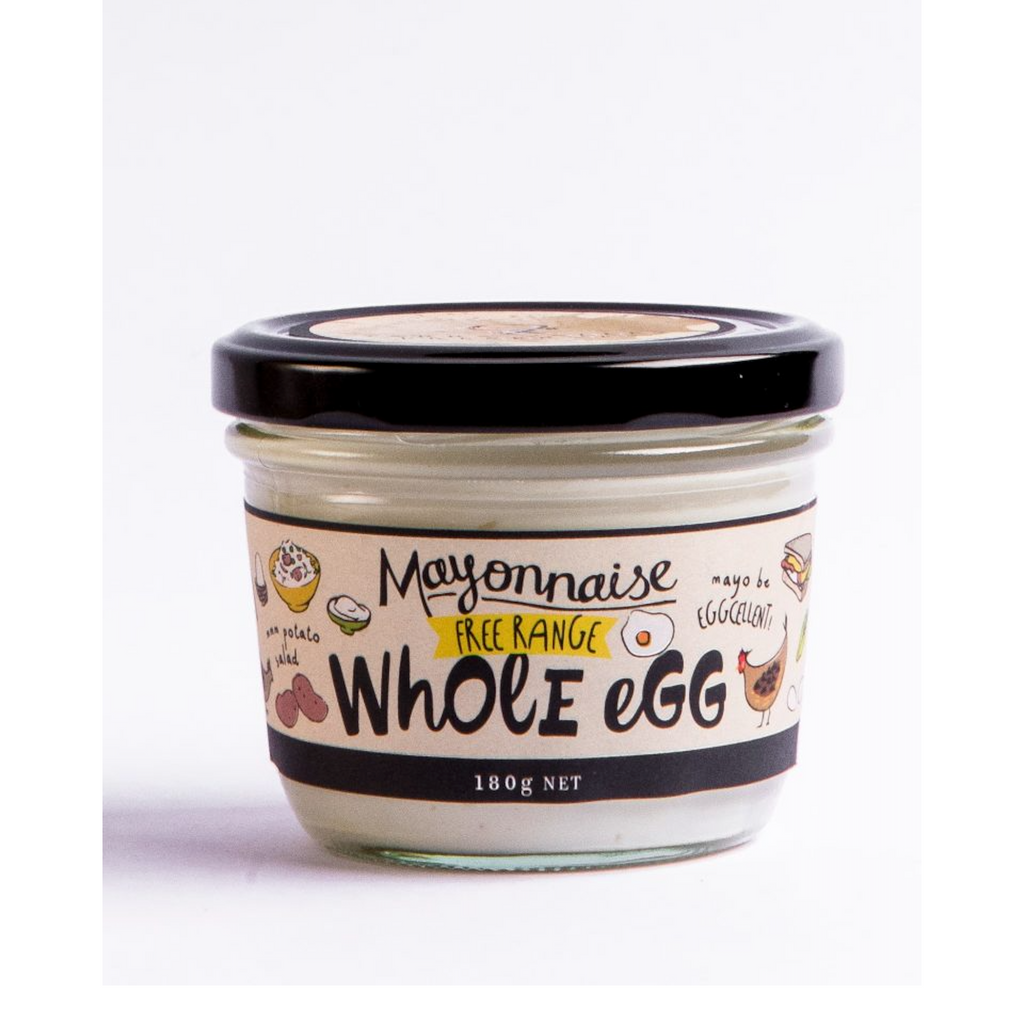 Whole Egg Mayonnaise 180g-Yarra Valley-m a g n o l i a | home