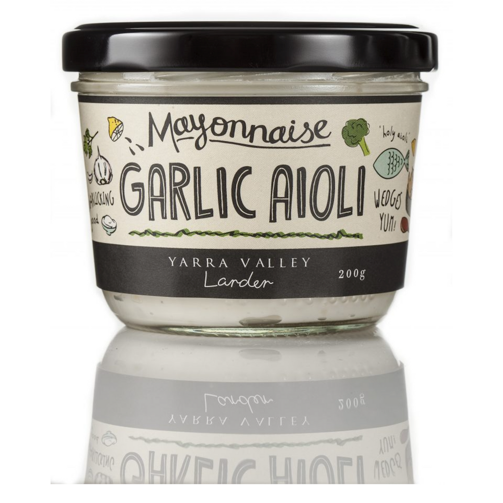 Garlic Aioli Mayonnaise 180g-Yarra Valley-m a g n o l i a | home