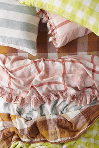Floss Check Pillowcases