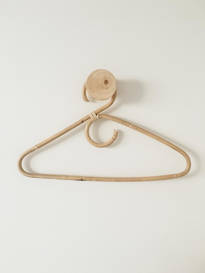Rattan Clothes Hangers (Pack of 3)