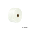 EXHAUST FIBERGLASS WRAP WHITE