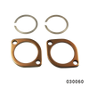 EXHAUST FLANGE FANGSTER GOLD