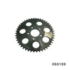 "530 CHAIN REAR SPROCKETS(2.22"") 48T OFFSET BLACK"
