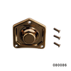 SOLENOID END COVERFANGSTER GOLD