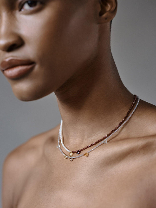 Labrodite Linings Necklace (Pre-Order)