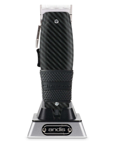 Carbon Fiber Custom Andis Cordless Master with Ceramic Blade and Clipper Grip Omnicord Inc.