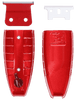 Custom Clipper Lid Bundle (Designed for Andis T-Outliner) Red