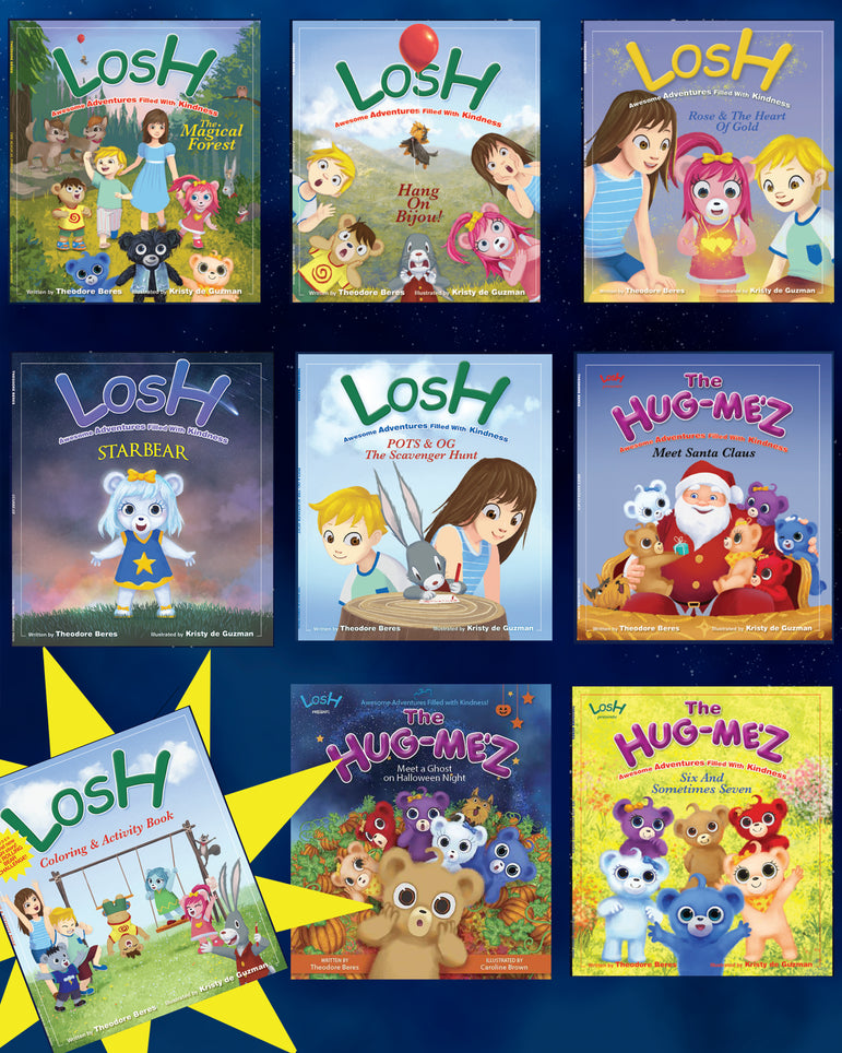Story Book Collection - 8 Books + Activity Book