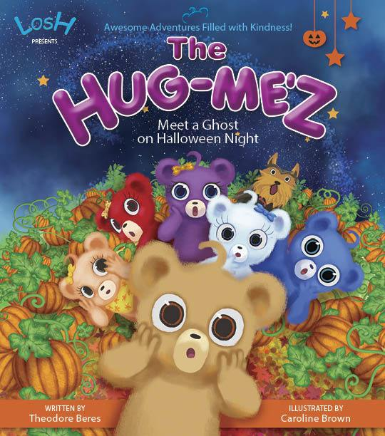 Story Book:  LOSH Presents:  THE HUG-ME'Z - Meet a Ghost on Halloween Night