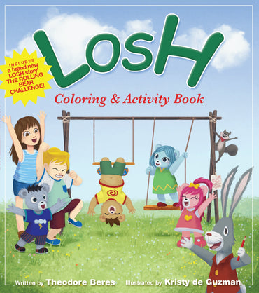 Story book:  LOSH - Coloring & Activity Book (Featuring the new story: The Rolling Bear Challenge)